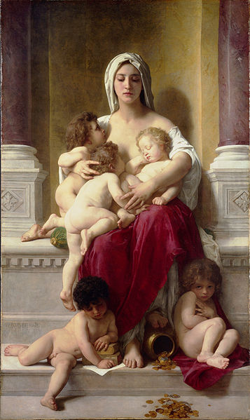 357px-William-Adolphe_Bouguereau_(1825-1905)_-_Charity_(1878)
