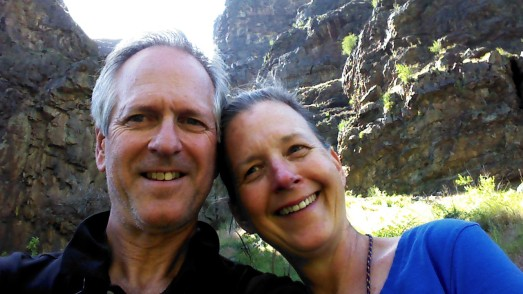 Cal & Dia on Snake River Canyon